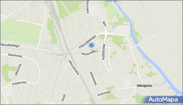 Police, Morelowa, mapa Police