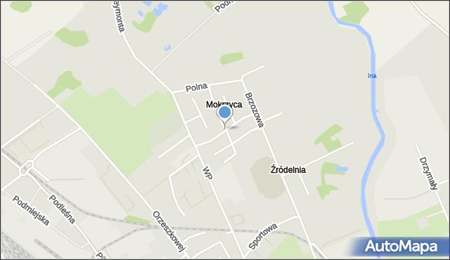 Stargard Szczeciński, Mokrzyca, mapa Stargardu Szczecińskiego