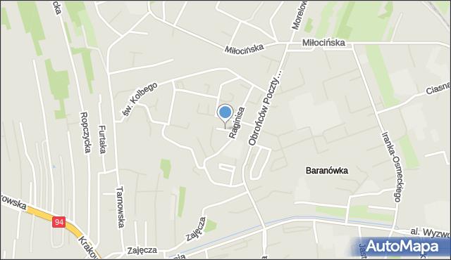 Rzeszów, Plac Jana Pawła II, mapa Rzeszów
