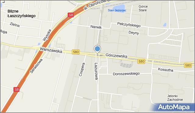 Warszawa, Radia Wolna Europa, rondo, mapa Warszawy