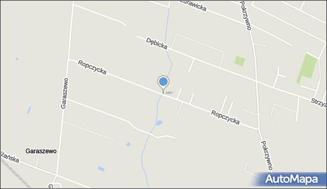 Poznań, Ropczycka, mapa Poznania