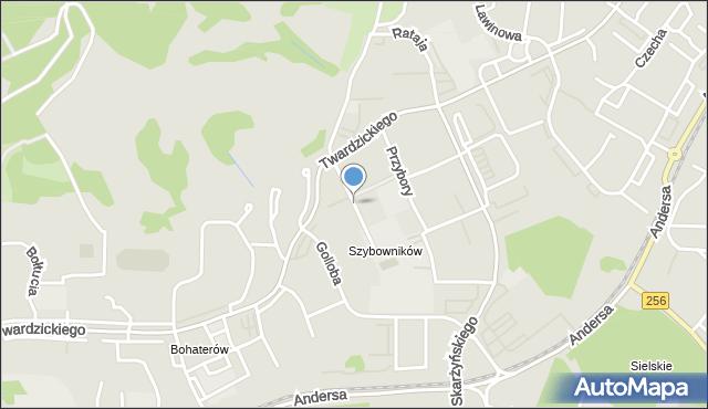Bydgoszcz, Rzeźniackiego Wojciecha, mapa Bydgoszczy
