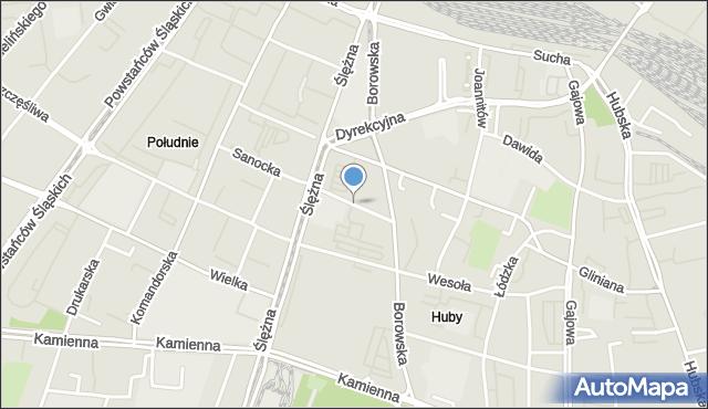 Mapa Polski Targeo, Wrocław, Sieradzka, mapa Wrocławia