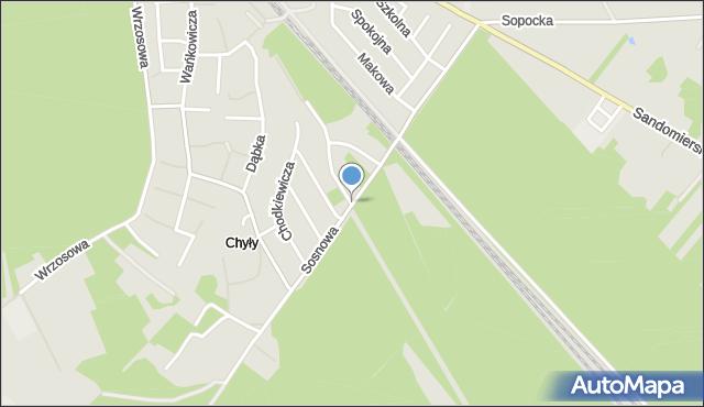 Stalowa Wola, Sosnowa, mapa Stalowa Wola