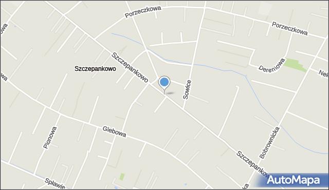 Poznań, Szczepankowo, mapa Poznania