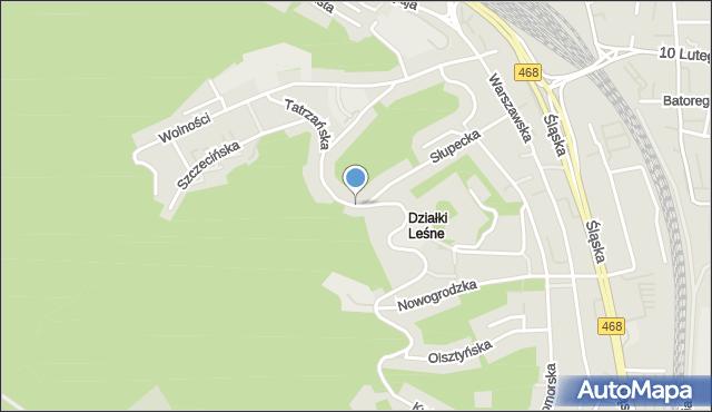 Gdynia, Tatrzańska, mapa Gdyni