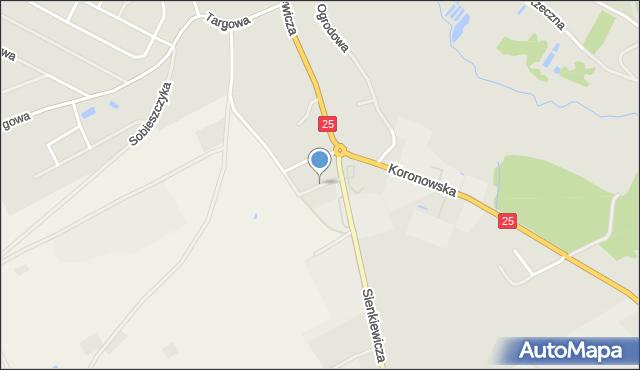 Sępólno Krajeńskie, Wiatrakowa, mapa Sępólno Krajeńskie