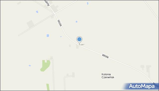 Wola, Wola, mapa Wola