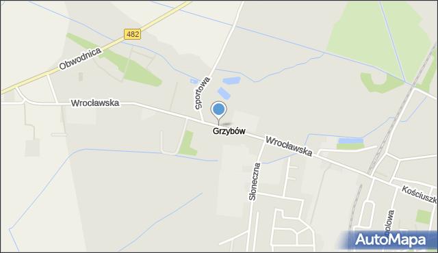 Kępno, Wrocławska, mapa Kępno