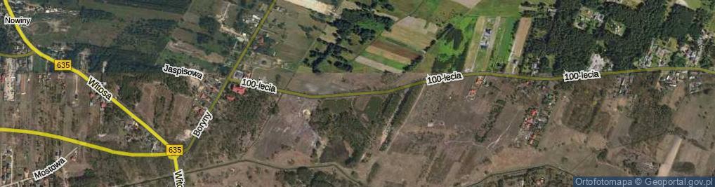 Zdjęcie satelitarne 100-Lecia