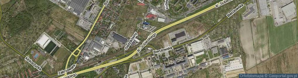 Zdjęcie satelitarne Aleja Króla Jana III Sobieskiego