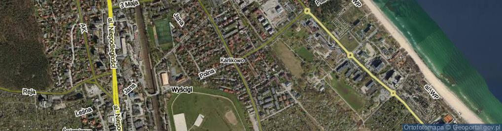 Zdjęcie satelitarne Architektów ul.
