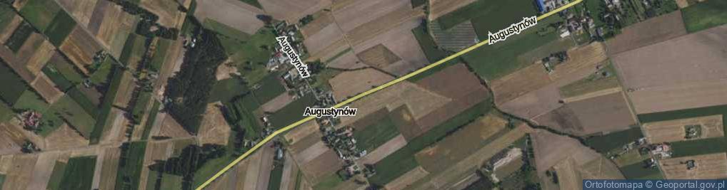 Zdjęcie satelitarne Augustynów