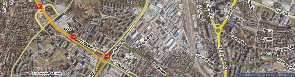 Zdjęcie satelitarne Baczyńskiego Krzysztofa Kamila