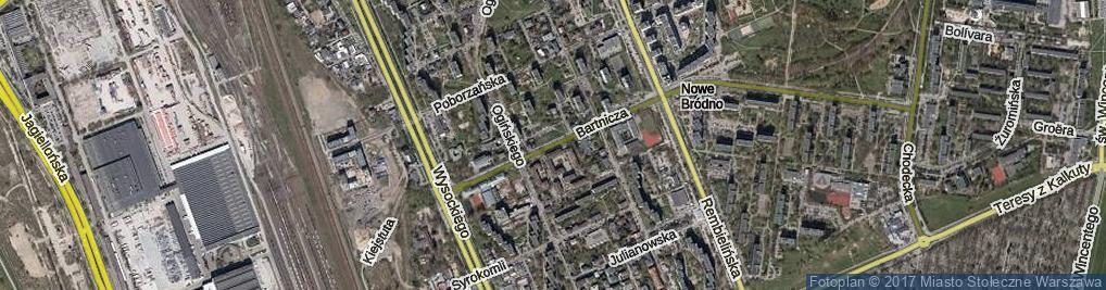 Zdjęcie satelitarne Bartnicza