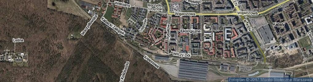 Zdjęcie satelitarne Batystowa ul.