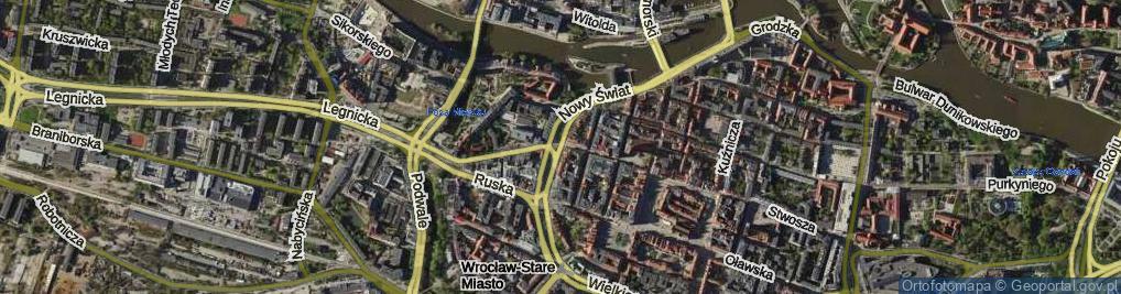 Zdjęcie satelitarne Białoskórnicza