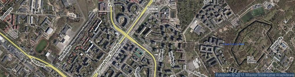 Zdjęcie satelitarne Blatona Jana ul.