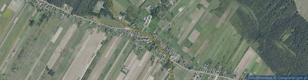 Zdjęcie satelitarne Bolmin ul.