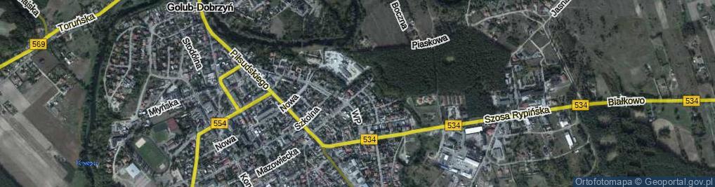 Zdjęcie satelitarne Bohaterów Września ul.