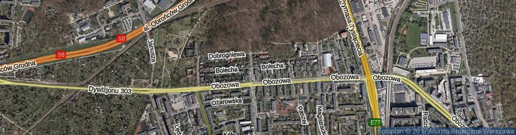 Zdjęcie satelitarne Bolecha