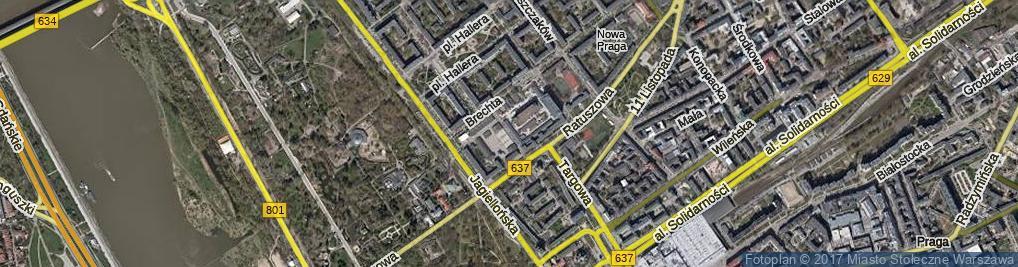 Zdjęcie satelitarne Borowskiego Tadeusza