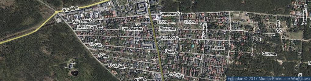 Zdjęcie satelitarne Brata Alberta ul.