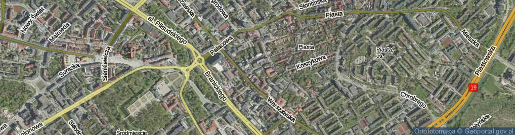 Zdjęcie satelitarne Bukowskiego Stanisława