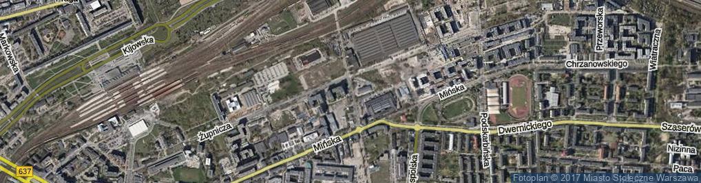 Zdjęcie satelitarne Chodakowska
