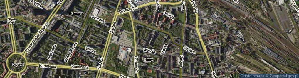 Zdjęcie satelitarne Ciepła ul.
