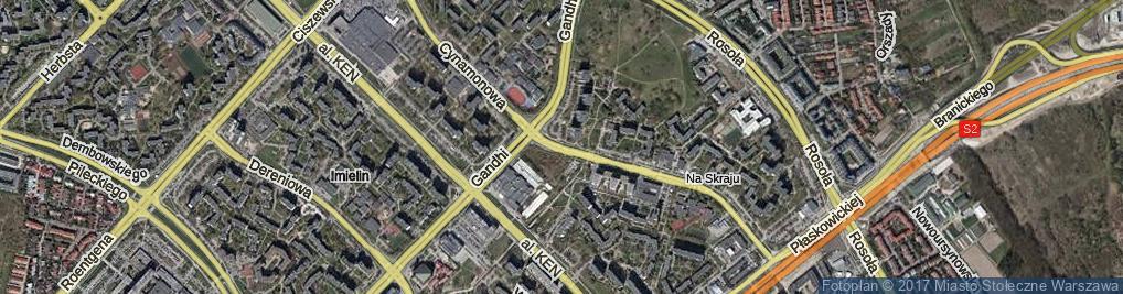 Zdjęcie satelitarne Cynamonowa