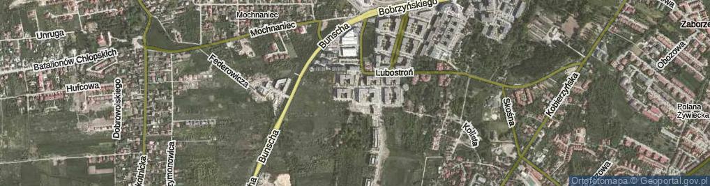 Zdjęcie satelitarne Czerwone Maki ul.