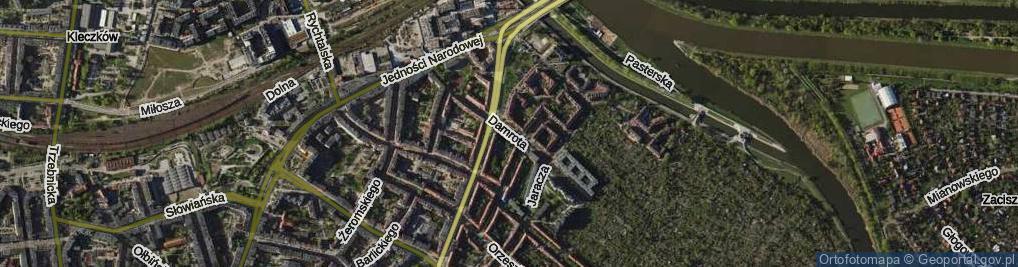 Zdjęcie satelitarne Damrota Konstantego, ks.