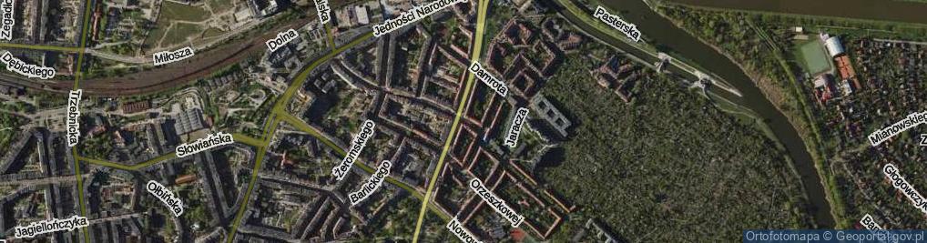 Zdjęcie satelitarne Daszyńskiego Ignacego