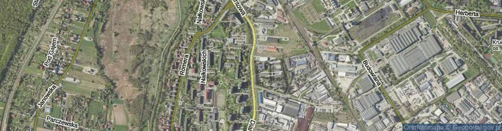 Zdjęcie satelitarne Diamentowa