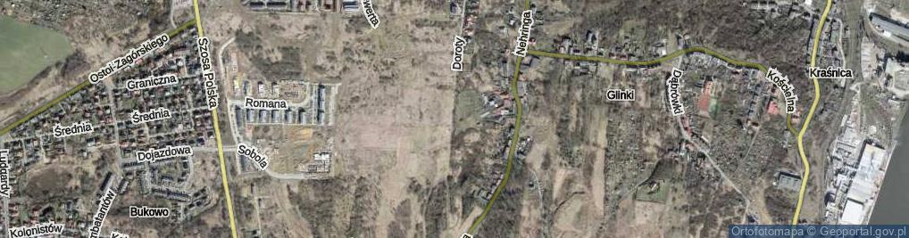 Zdjęcie satelitarne Doroty ul.