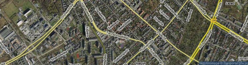 Zdjęcie satelitarne Droga Słoneczna ul.