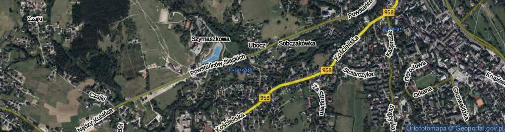 Zdjęcie satelitarne Droga do Rojów ul.