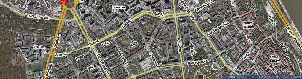 Zdjęcie satelitarne Dubois Stanisława