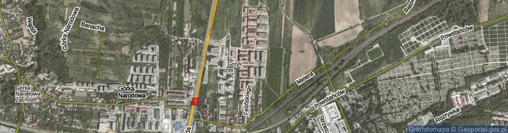 Zdjęcie satelitarne Felińskiego Zygmunta Szczęsnego, abp.