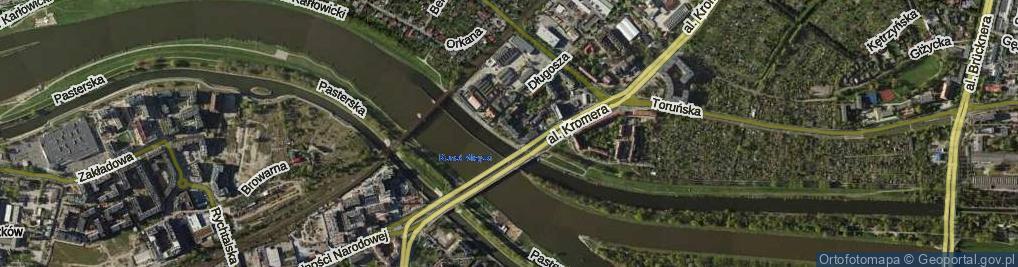 Zdjęcie satelitarne Galla Anonima
