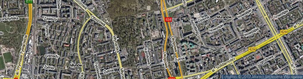 Zdjęcie satelitarne Gibalskiego Edwarda ul.