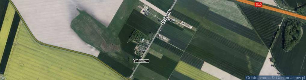 Zdjęcie satelitarne Golczewo