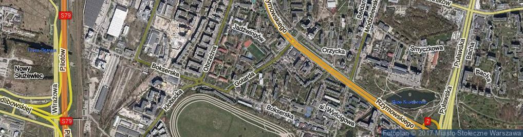 Zdjęcie satelitarne Gotarda ul.