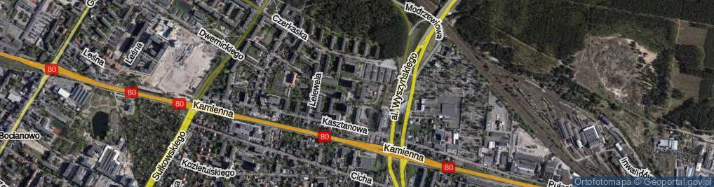 Zdjęcie satelitarne Grabowa