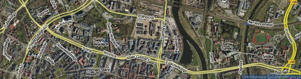 Zdjęcie satelitarne Grochowe Łąki