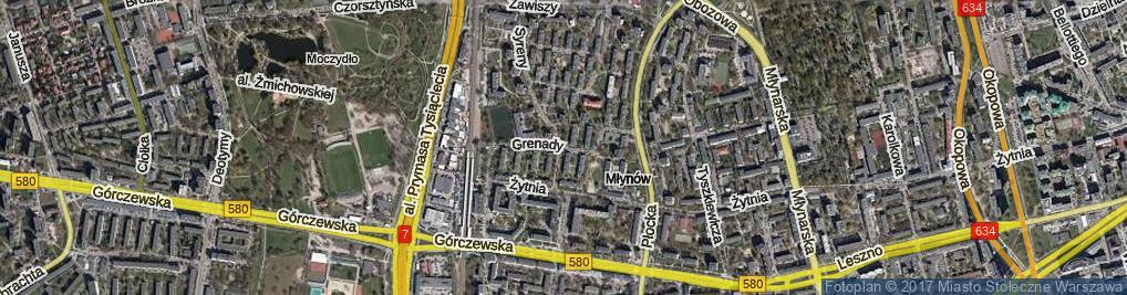 Zdjęcie satelitarne Grenady ul.