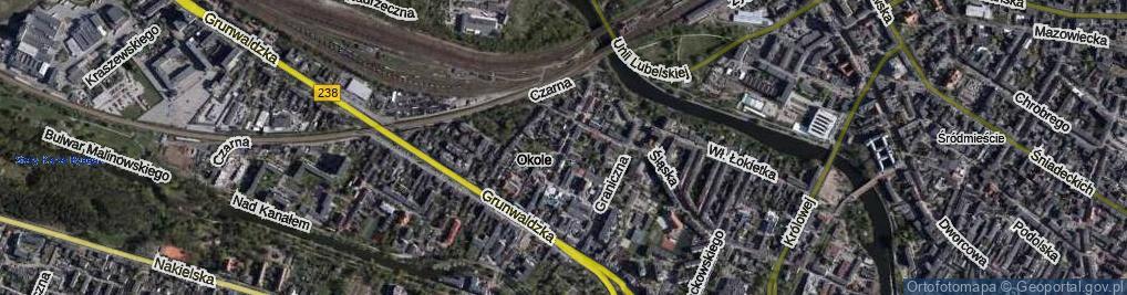 Zdjęcie satelitarne Jasna
