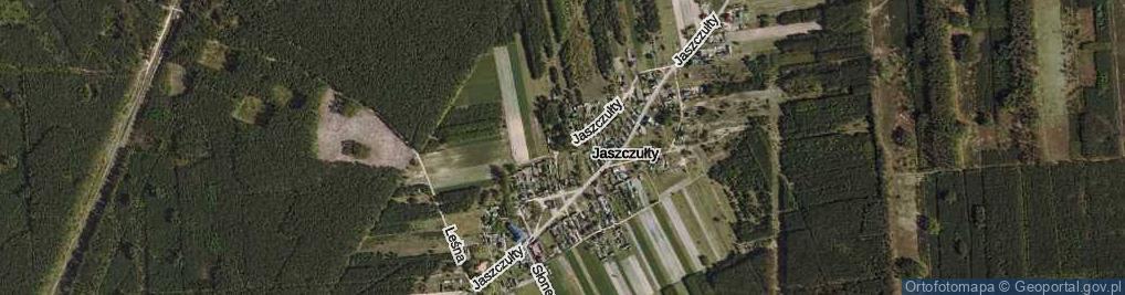 Zdjęcie satelitarne Jaszczułty