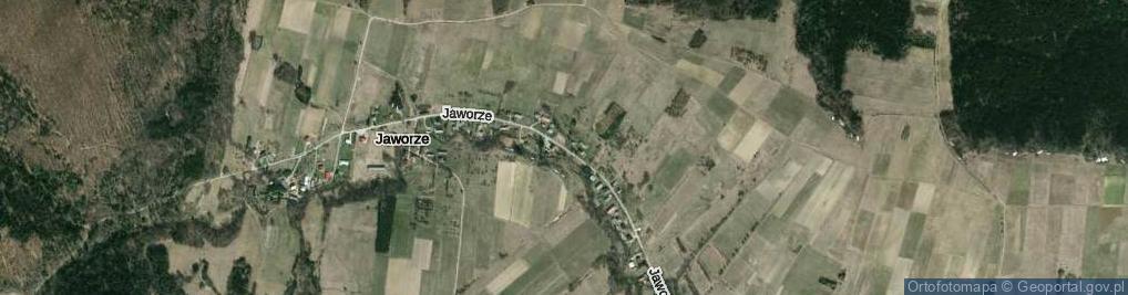 Zdjęcie satelitarne Jaworze ul.